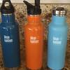 Different Caps KLEAN KANTEEN Water Bottle
