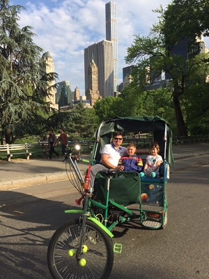 Pedicab Guided Tour of Central Park