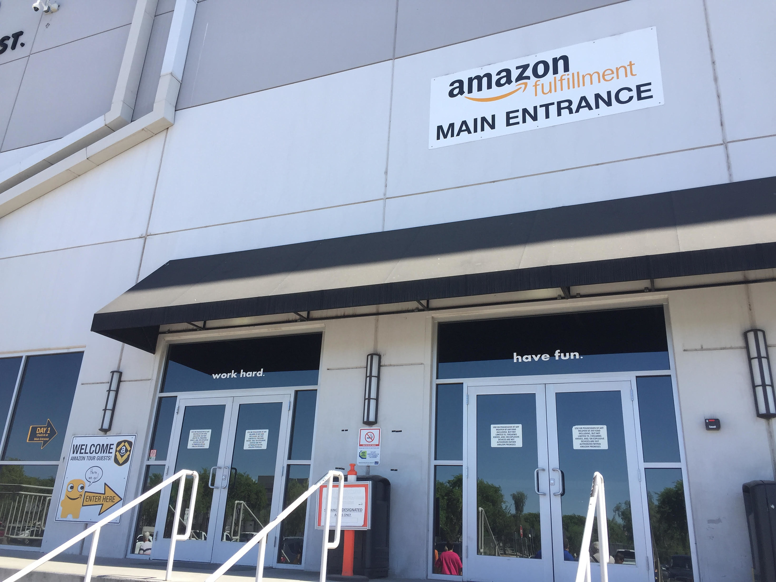 Amazon Main Entrance