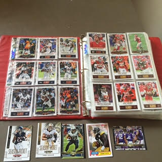 Football Trading Card Binder