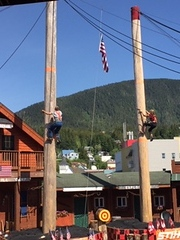 Ketchikan Lumberjack Show Excursion