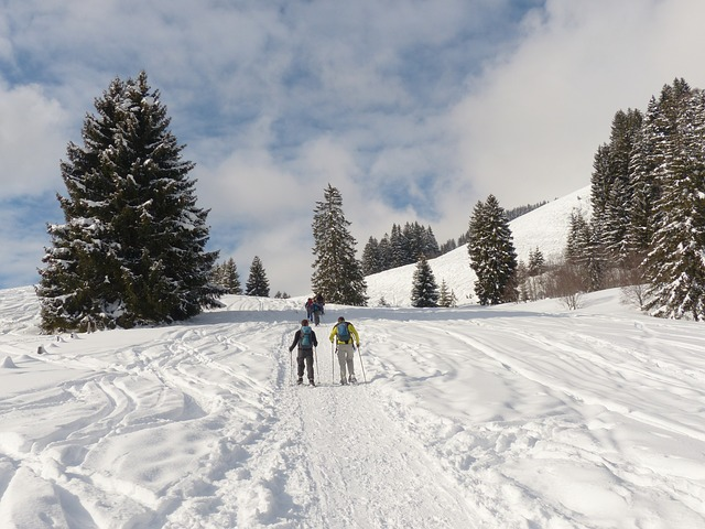Snow Shoeing in Meribel