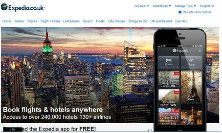 Expedia top eco App