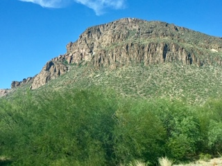 Tucson Geological features