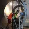 Discovery World in Milwaukee Hamster Wheel