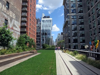 The High Line Park New York City
