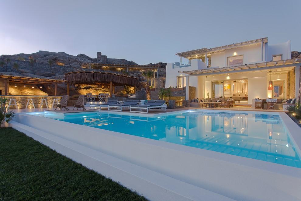 luxury villas vacation in Mykonos
