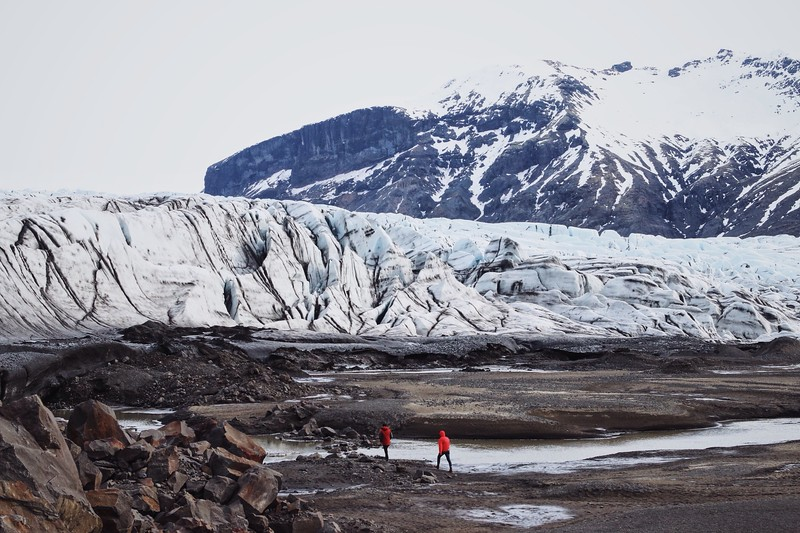 Glaciers Melting because of Global Warming