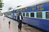 Train ride back to Mumbai from Goa, India during the rains