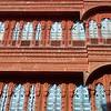 Intricately carved haveli in Bikaner.