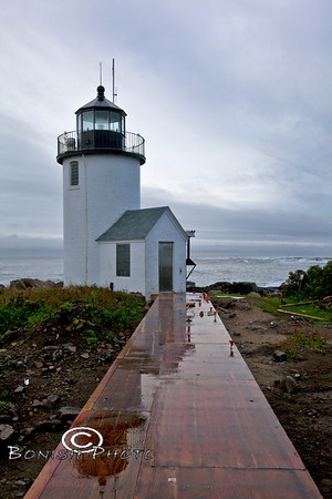 Goat Island Lighthouse - Cape Porpoise Maine - EveryMilesAMemory
