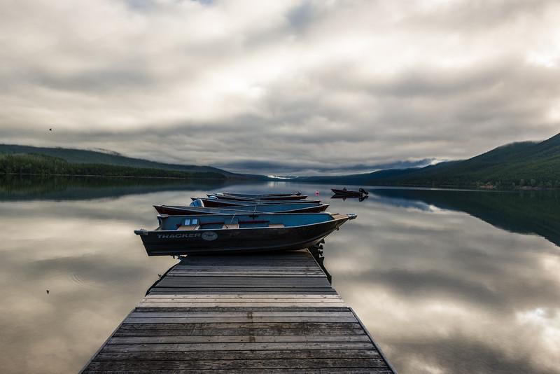 Lake McDonald at Apgar