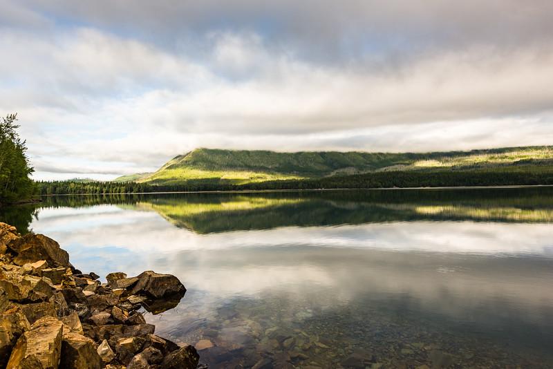 Quiet morning, Lake McDonald