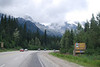 Sunday, close to Rogers Pass in Glacier National Park - the Canadian one in BC.