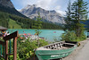 An extended stop at Emerald Lake in Yoho NP, BC...