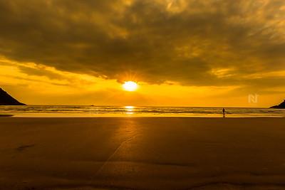 Sunsets at Gokarna.