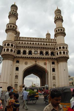 Golconda Fort & Charminar in Hyderabad, India 2006
