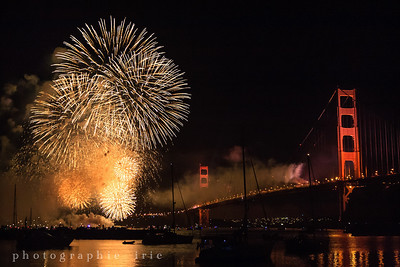 golden gate bridge 75th anniversary fireworks 2012