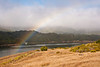 A rainbow to start of the day - over Upper Crystal Springs reservoir