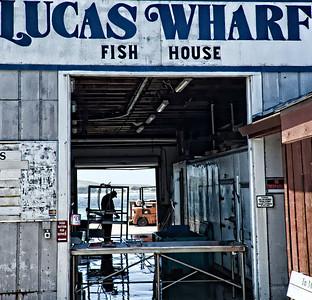 Lucas Wharf and Fish House, Bodga Bay.