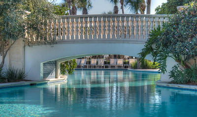 The Cloister at Sea Island Swimming Pool