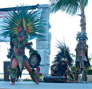 Bahía de Banderas March 2013  Danza Azteca