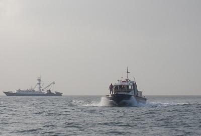 Pilot Boat with Adivisor