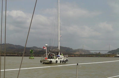 Copernicus Heading towards the Pedro Miguel Lock
