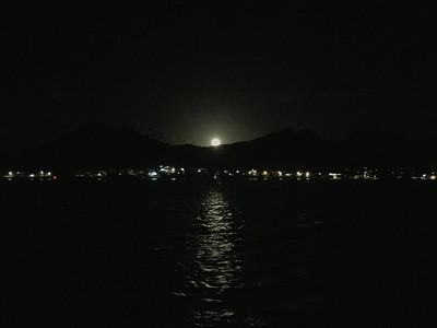 Full Moon at Anchorage