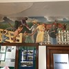 WPA painting inside the PO
