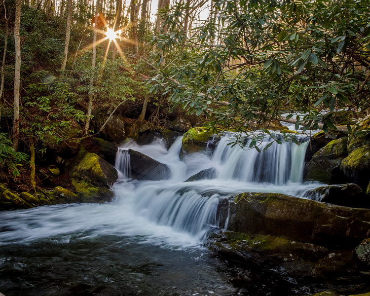 Waterfall, Lynn Camp Prong, Smoky Mountains National Park