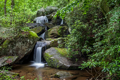 Waterfall, South Mountain State Park, Indiana