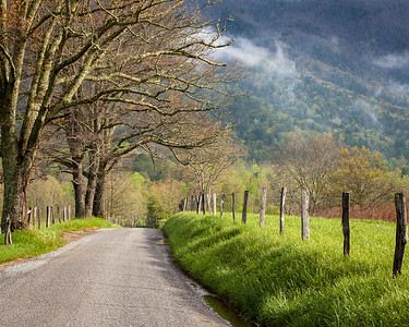 Sparks Lane in Cades Cove, Smoky Mountains National Park