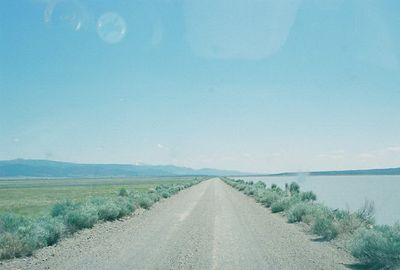 7/3/05 Goose Lake from Cty Rd 48 (Causeway), Modoc County, CA