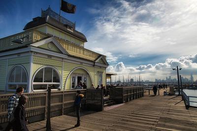 St Kilda Pier and Kiosk