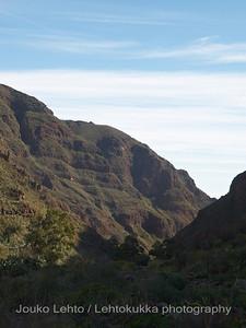 Guayadeque, luolakylä - cave village: Gran Canaria