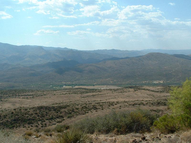 Rest stop, I-17 north of Phoenix