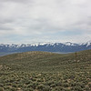 Toiyabe Range, from Highway 50