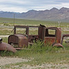 Middlegate, Nevada - abandoned car