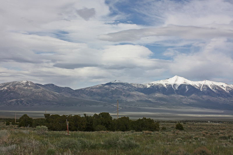 Wheeler Peak, eastern Nevada - about an hour east of Ely