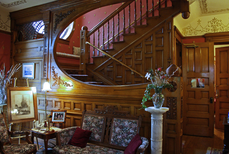 Castle Marne staircase