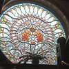 Castle Marne rose window (on the staircase landing)