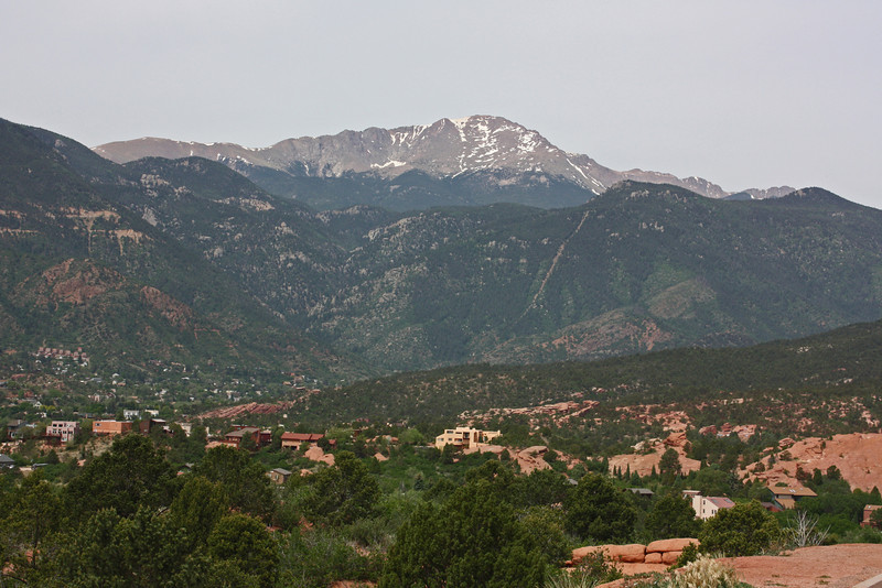 Pike's Peak, from Garden of the Gods