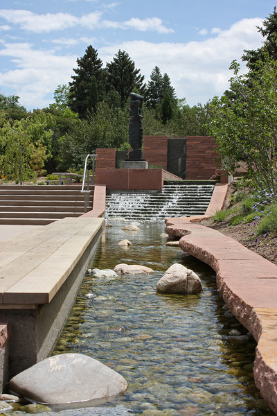 Denver Botanical Garden - water feature