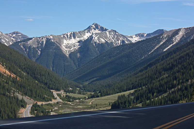 U.S. 550 (the Million Dollar Highway) - San Juan Mts.