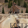 U.S. 550 (the Million Dollar Highway) - San Juan Mts. - abandoned mine works