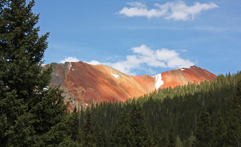 U.S. 550 (the Million Dollar Highway) -  Red Mts.