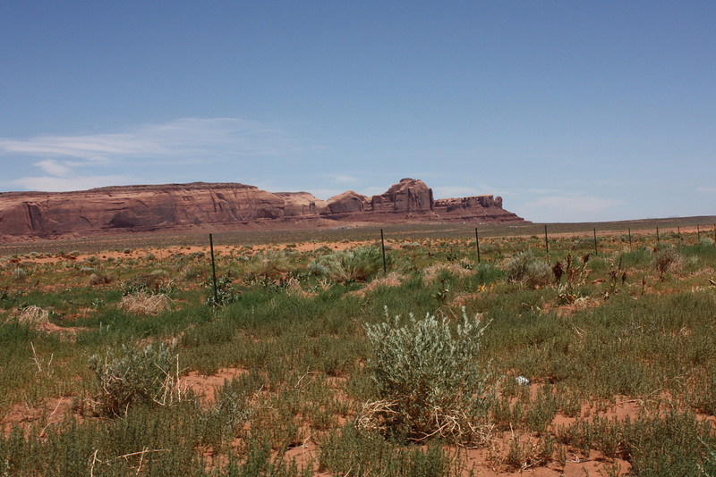 Monument Valley - where we ate lunch