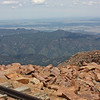View from top of Pike's Peak