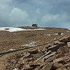 view from Pike's Peak cog railway